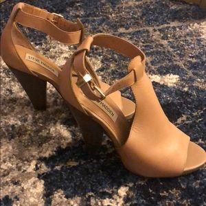 Steve Madden Brown Chunky Heels